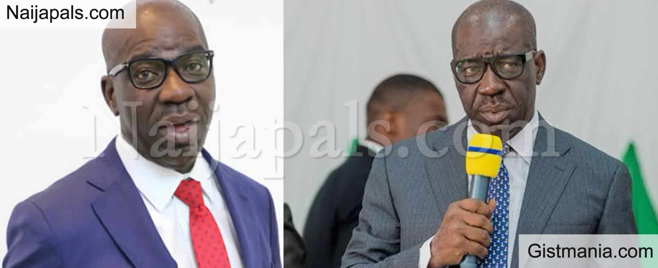 <img alt='.' class='lazyload' data-src='https://img.gistmania.com/emot/comment.gif' /> <b>I'm Not in Politics Because of Money, But to Serve My People</b> - Edo Gov. Obaseki