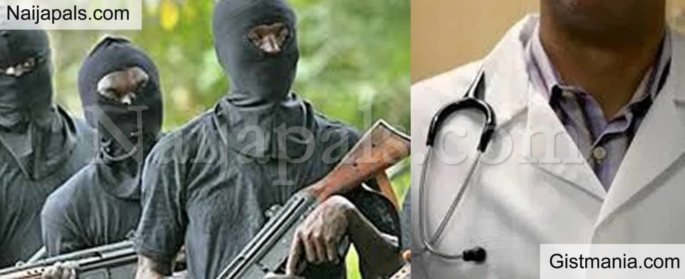 <img alt='.' class='lazyload' data-src='https://img.gistmania.com/emot/news.gif' /> <b>NMA Cries Out As Gunmen Kidnap Medical Doctor In Kogi State</b>