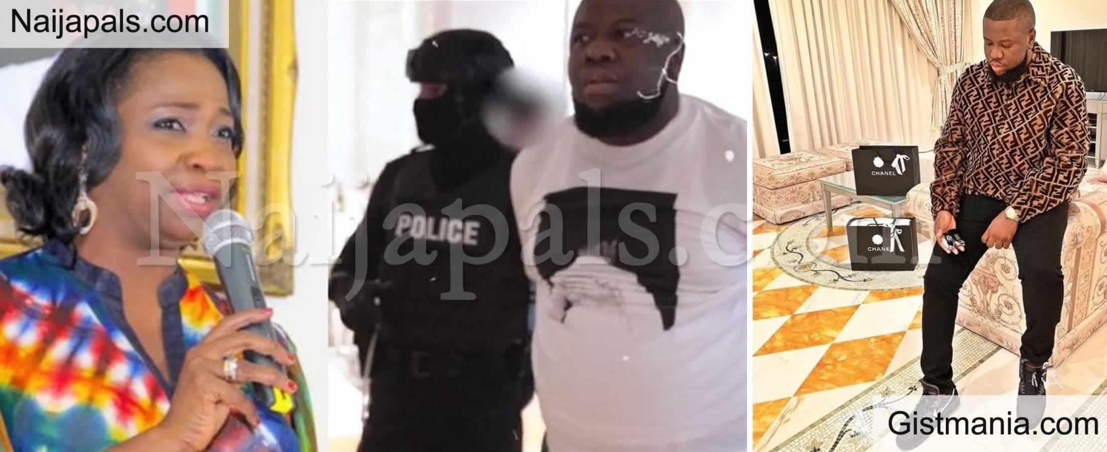 "<img alt='.' class='lazyload' data-src='https://img.gistmania.com/emot/comment.gif' /> <b>""Hushpuppi's Fraudulent Saga, Show Off Has Tarnished Nigeria's Image""</b> – Abike Dabiri-Erewa Says"
