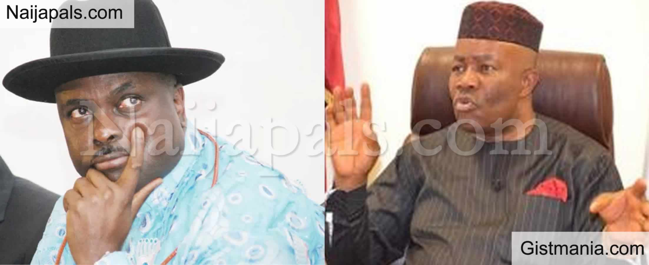 <img alt='.' class='lazyload' data-src='https://img.gistmania.com/emot/comment.gif' /> Ex-Delta Governor, <b>James Ibori Warns Godswill Akpabio Not To Drag Him Into NDDC Contract Scam</b>