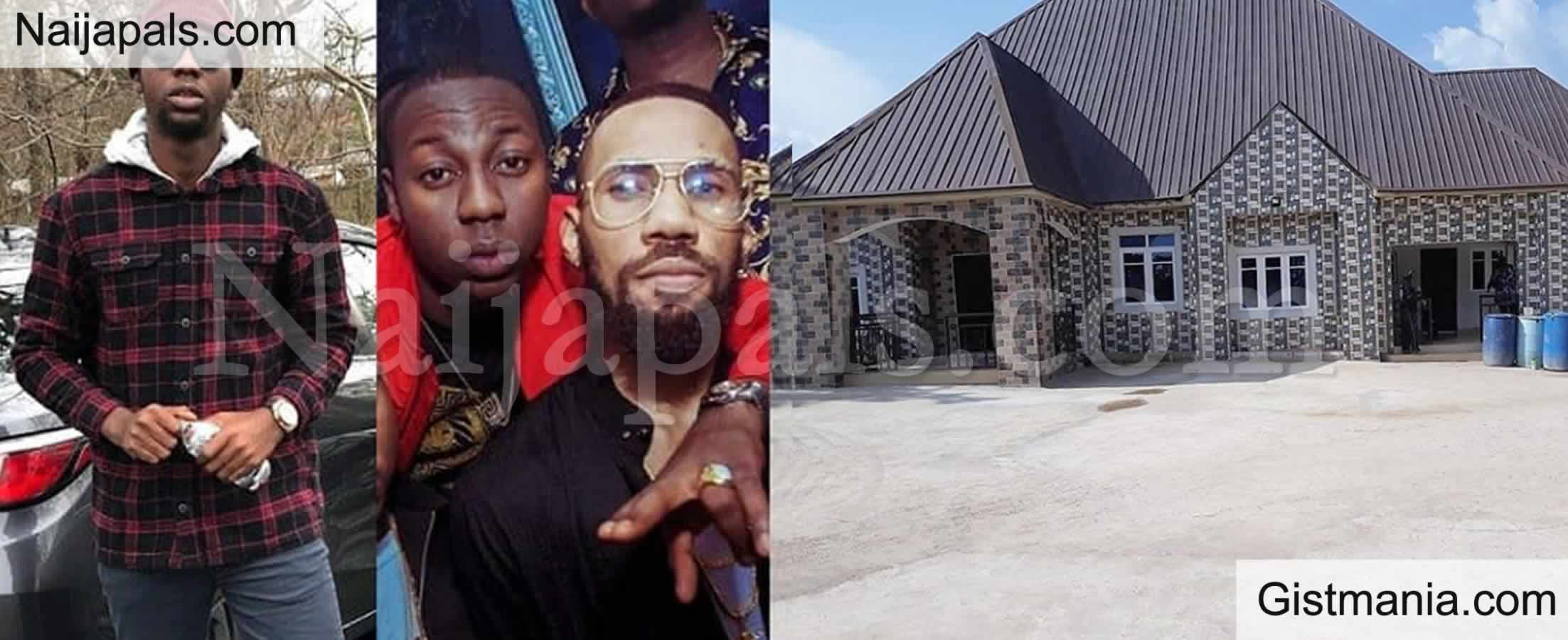 <img alt='.' class='lazyload' data-src='https://img.gistmania.com/emot/photo.png' /> PHOTO: <b>Phyno's Official Disc Jockey, DJ Jmasta Builds New House For His Parents In The Village</b>