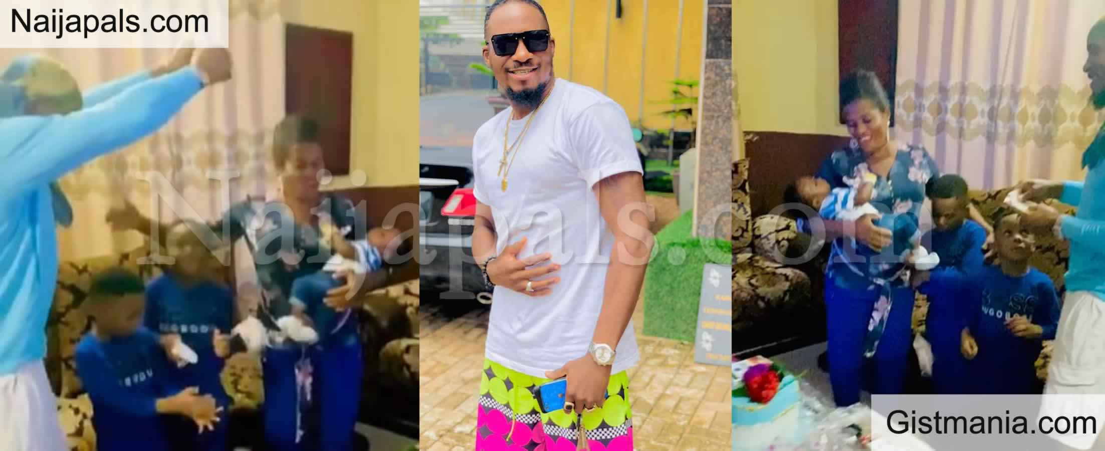 <img alt='.' class='lazyload' data-src='https://img.gistmania.com/emot/video.gif' /> <b>Actor Jnr Pope Showers His Mother-in-law With Money As She Celebrates Her Birthday</b> (VIDEO)