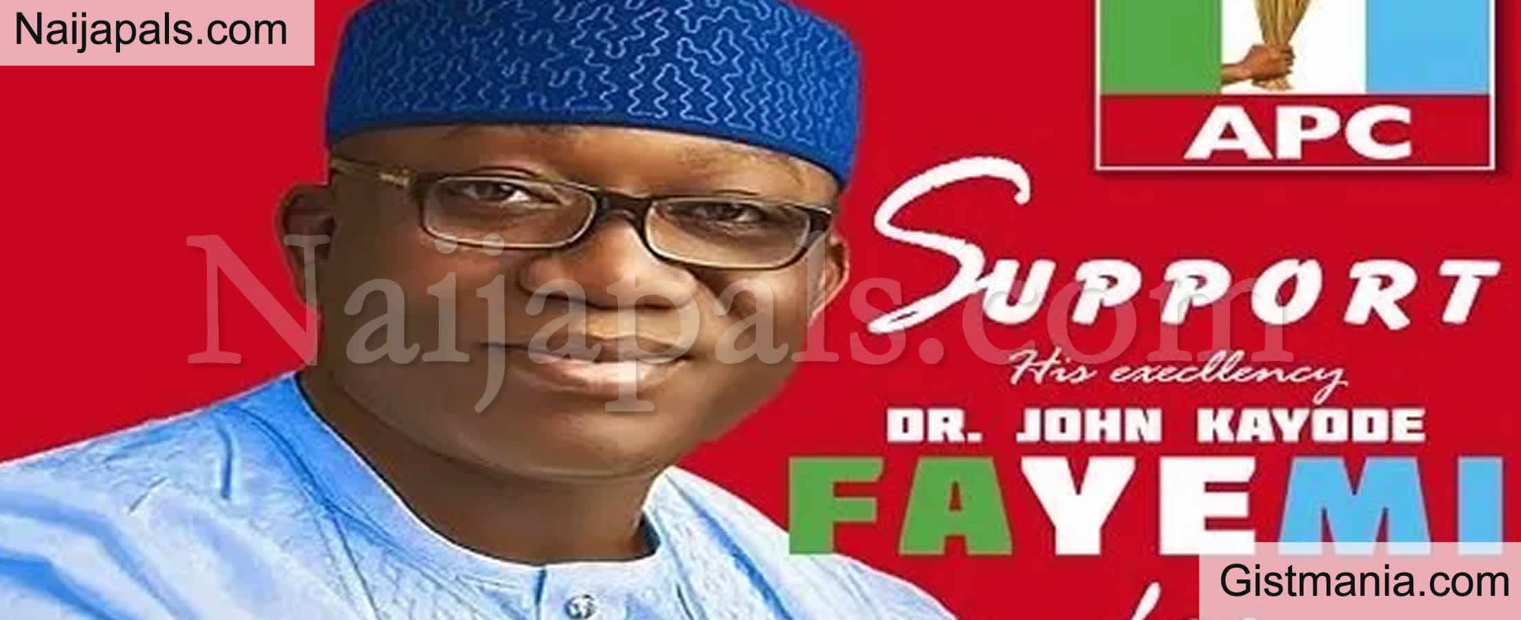 <img alt='.' class='lazyload' data-src='https://img.gistmania.com/emot/news.gif' /> BREAKING! <b>APC Suspends Governor Fayemi of Ekiti State</b>, List His Anti-Party Activities