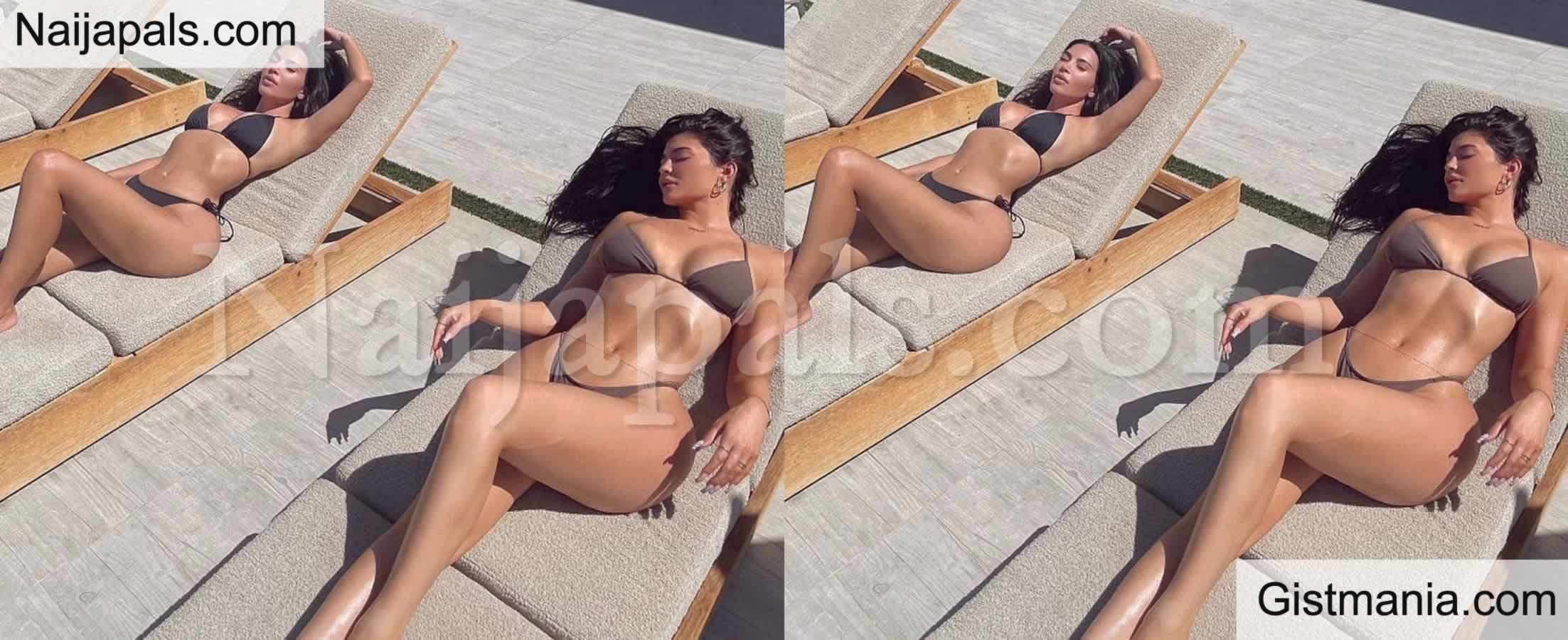 <img alt='.' class='lazyload' data-src='https://img.gistmania.com/emot/photo.png' /> Dripping Hot! <b>Kim Kardashian And Kylie Jenner Flaunt Their Curves in Matching Bikinis</b>