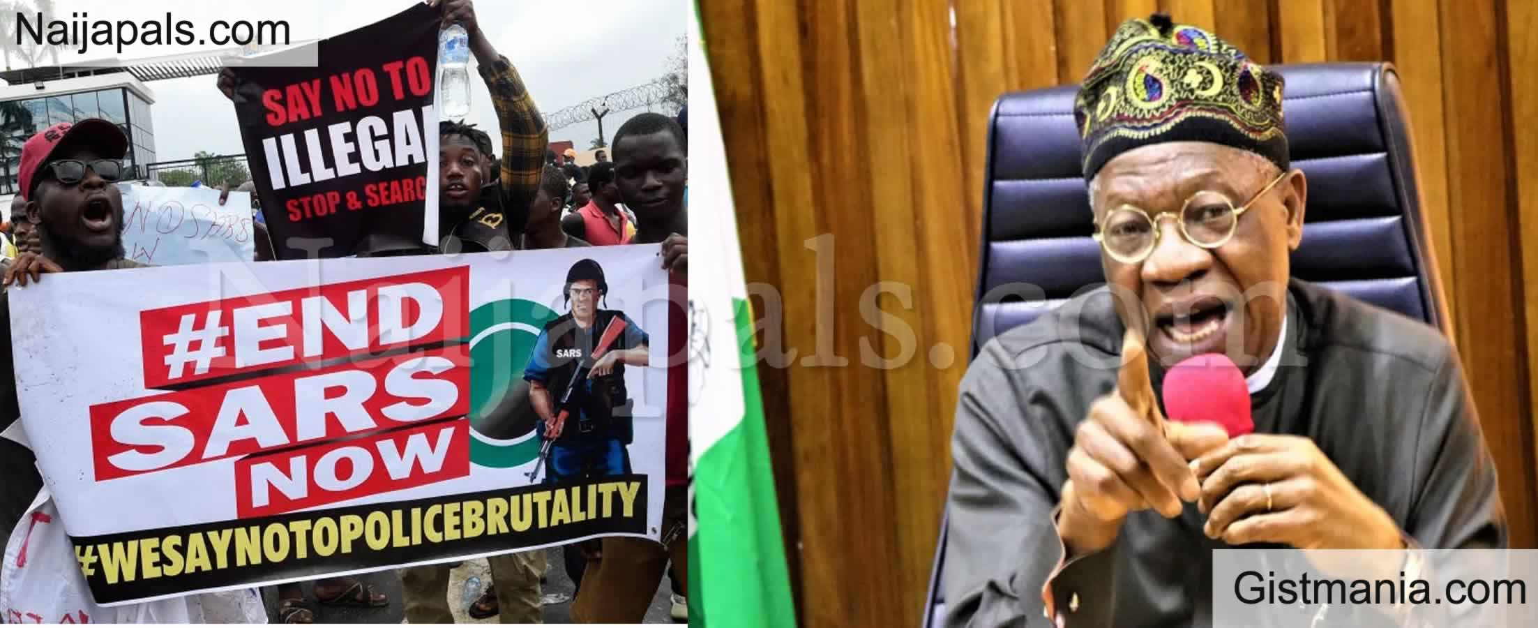"<img alt='.' class='lazyload' data-src='https://img.gistmania.com/emot/comment.gif' /> <b>""We Have Met The Five Demands Of #EndSARS Protesters""</b> – Nigerian Govt Says"