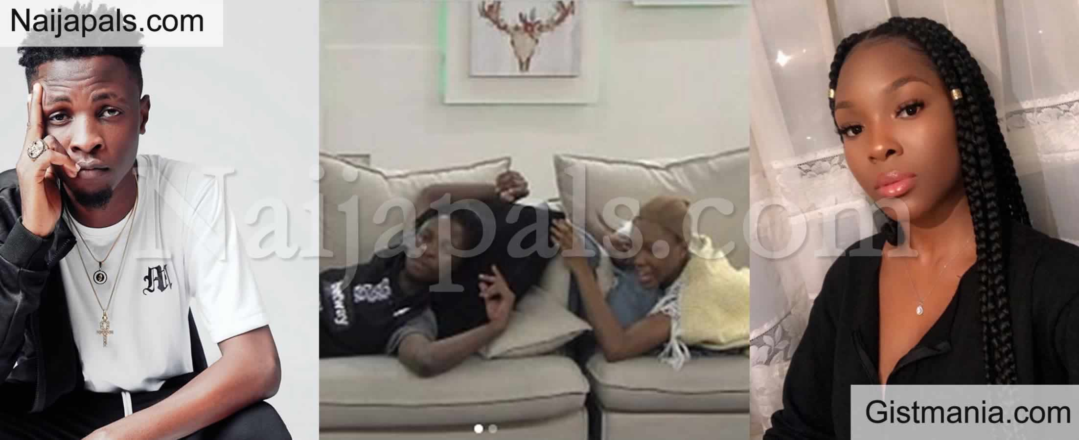"<img alt='.' class='lazyload' data-src='https://img.gistmania.com/emot/video.gif' /> #BBNaija: <b>""I Love The Way You Looked Out For Me When I Needed To Get My Shit Together""</b> - Laycon To Vee (VIDEO)"