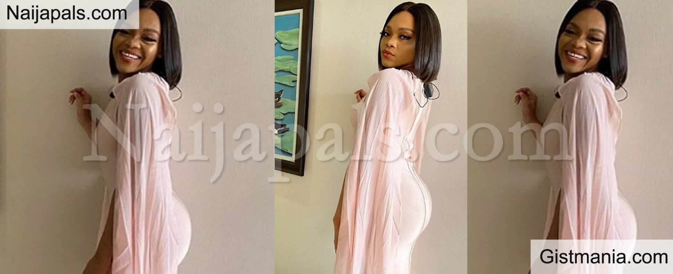 <img alt='.' class='lazyload' data-src='https://img.gistmania.com/emot/comment.gif' /> PHOTOS: <b>Evicted Lilo Aderogba Makes Her First Appearance Outside The Big Brother House</b>