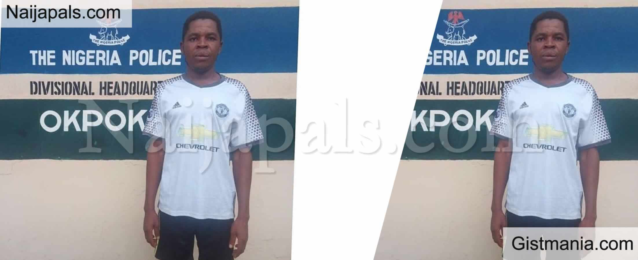 <img alt='.' class='lazyload' data-src='https://img.gistmania.com/emot/smh.gif' /> <b>29-year-old Man Lures His Neighbour's 7-year-old Daughter With Biscuit Into His Room, Rapes Her</b>