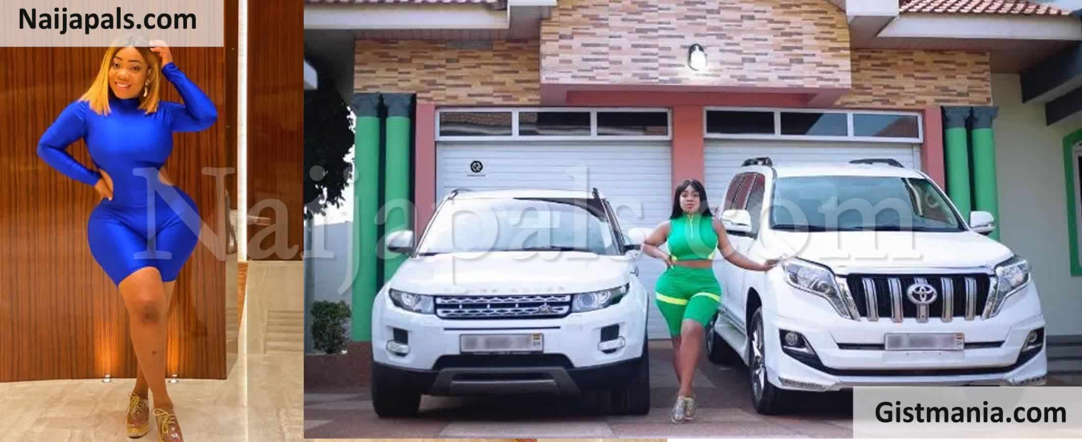 <img alt='.' class='lazyload' data-src='https://img.gistmania.com/emot/photo.png' /> <b>Curvy Actress & Socialite, Moesha Boduong Acquires Two Expensive Cars At Once</b> (Photo)