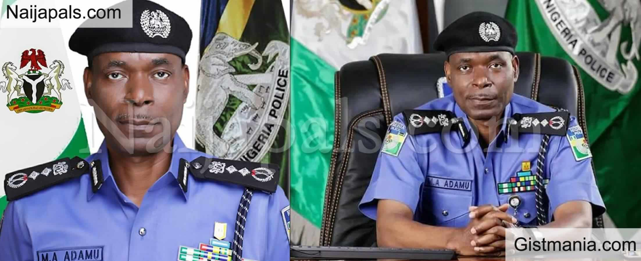 "<img alt='.' class='lazyload' data-src='https://img.gistmania.com/emot/news.gif' /> <b>""#ENDSARS Protest Turned Violent, We Will Not Allow It Again"" -IGP Adamu Warns Protesters</b>"