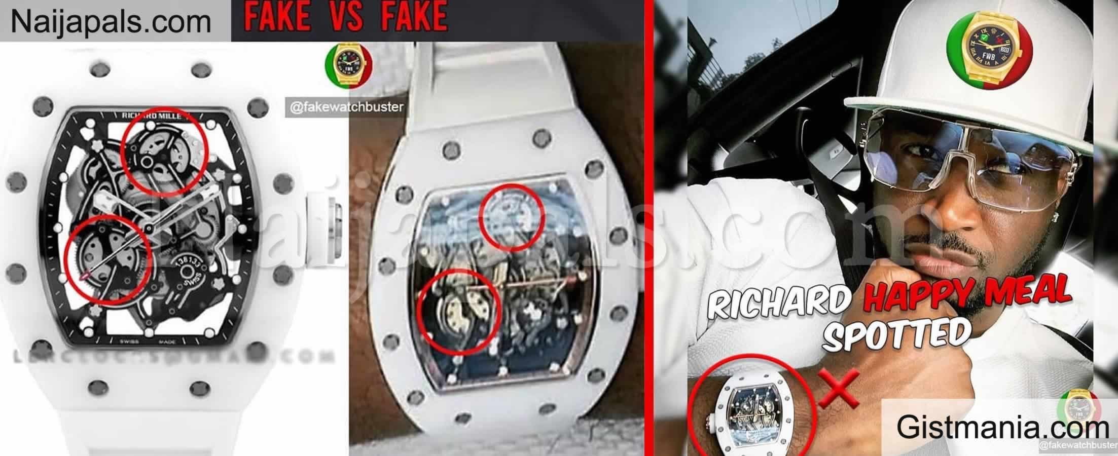 <img alt='.' class='lazyload' data-src='https://img.gistmania.com/emot/comment.gif' /> Na Audio: <b>Mr. P Of Psquare Busted For Wearing a Fake Richard Mille Watch</b>