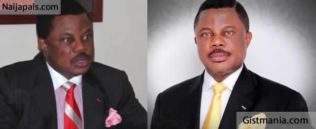 <img alt='.' class='lazyload' data-src='https://img.gistmania.com/emot/comment.gif' /> <b>Anambra Governor, Willie Obiano Claims He Has Not Received Salaries Since He Was Elected</b>