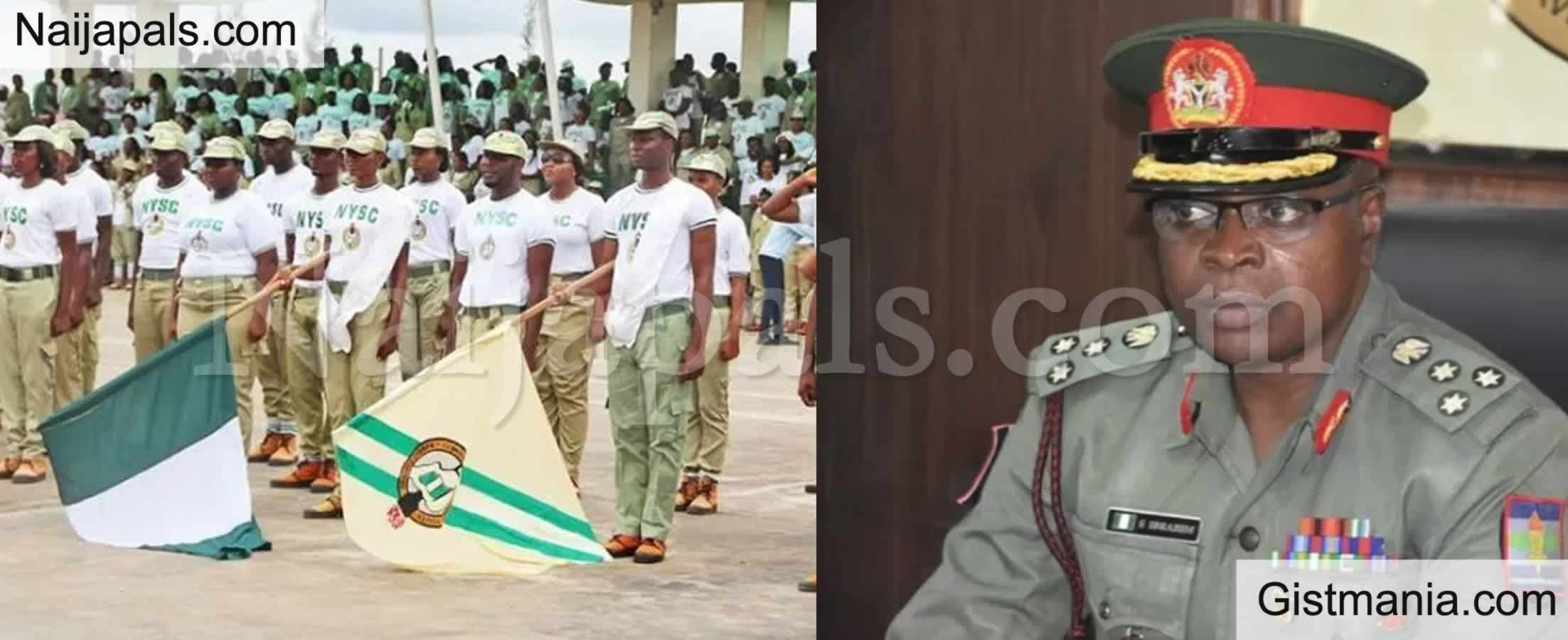 <img alt='.' class='lazyload' data-src='https://img.gistmania.com/emot/comment.gif' /> <b>NYSC DG Says 3-year Jail Term Awaits Anyone Unlawfully In Possession Of NYSC Uniforms</b>
