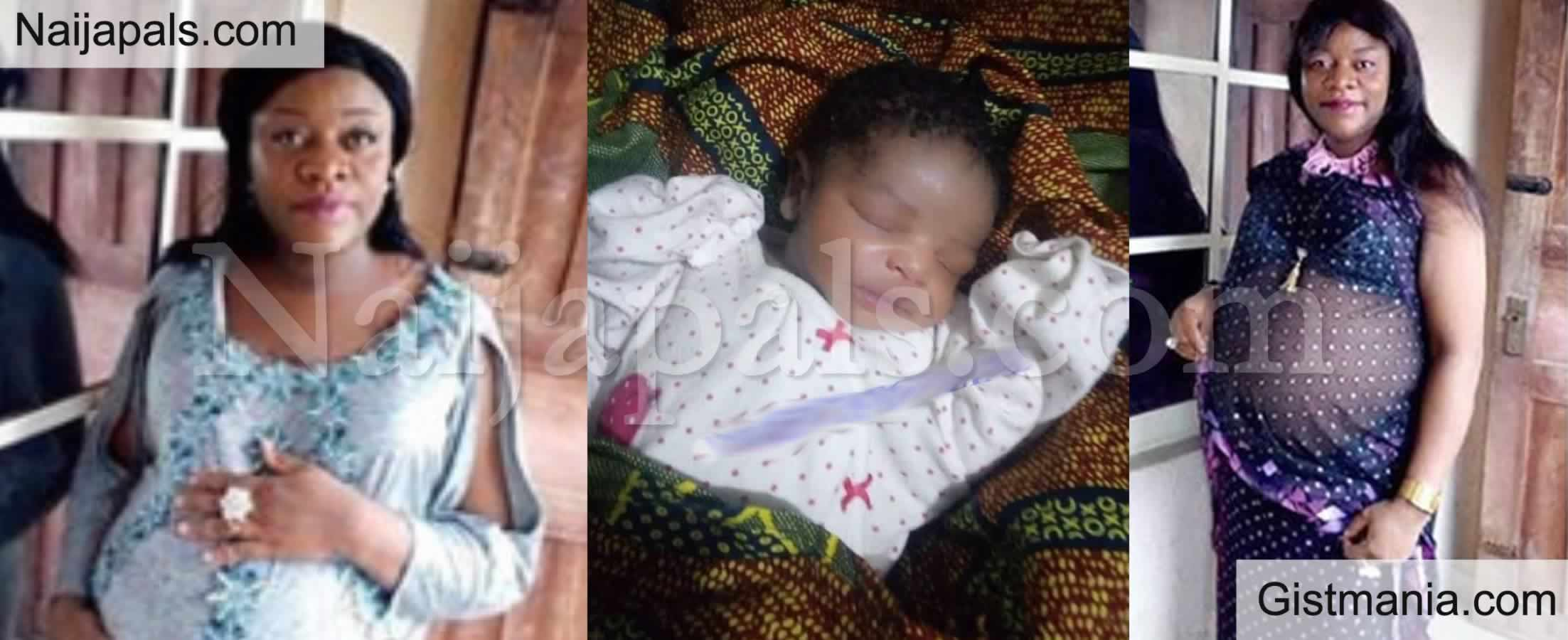 <img alt='.' class='lazyload' data-src='https://img.gistmania.com/emot/dance.gif' /> <b>Nigerian Woman Finally Welcomes Her First Child After 12 Years of Marriage</b> (Photos)
