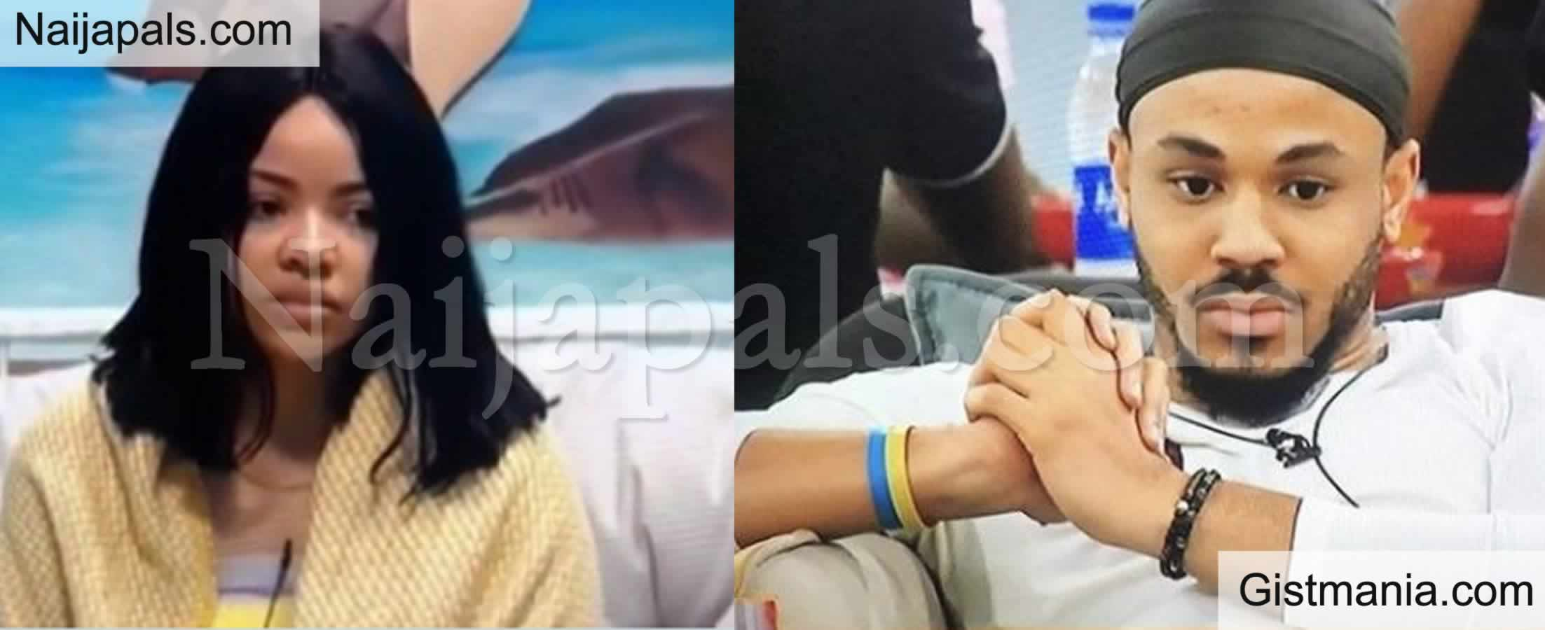 "<img alt='.' class='lazyload' data-src='https://img.gistmania.com/emot/comment.gif' /> BBNaija: <b>""My Relationship With Ozo Will Definitely Affect My Relationship Outside""</b> - Nengi Says During Her Diary Session With Biggie"