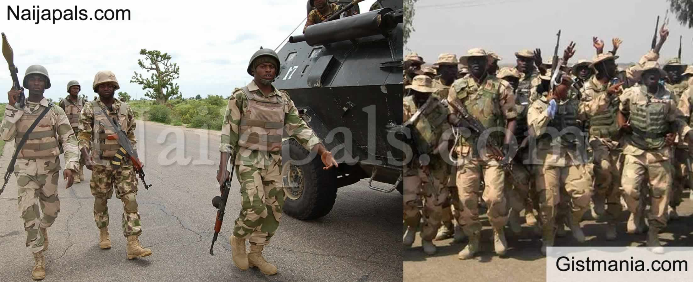 <img alt='.' class='lazyload' data-src='https://img.gistmania.com/emot/news.gif' /> <b>3 Bandits Killed, 8 Arrested kidnapped Victims Rescued By Nigerian Army In Zamfara & Katsina </b>