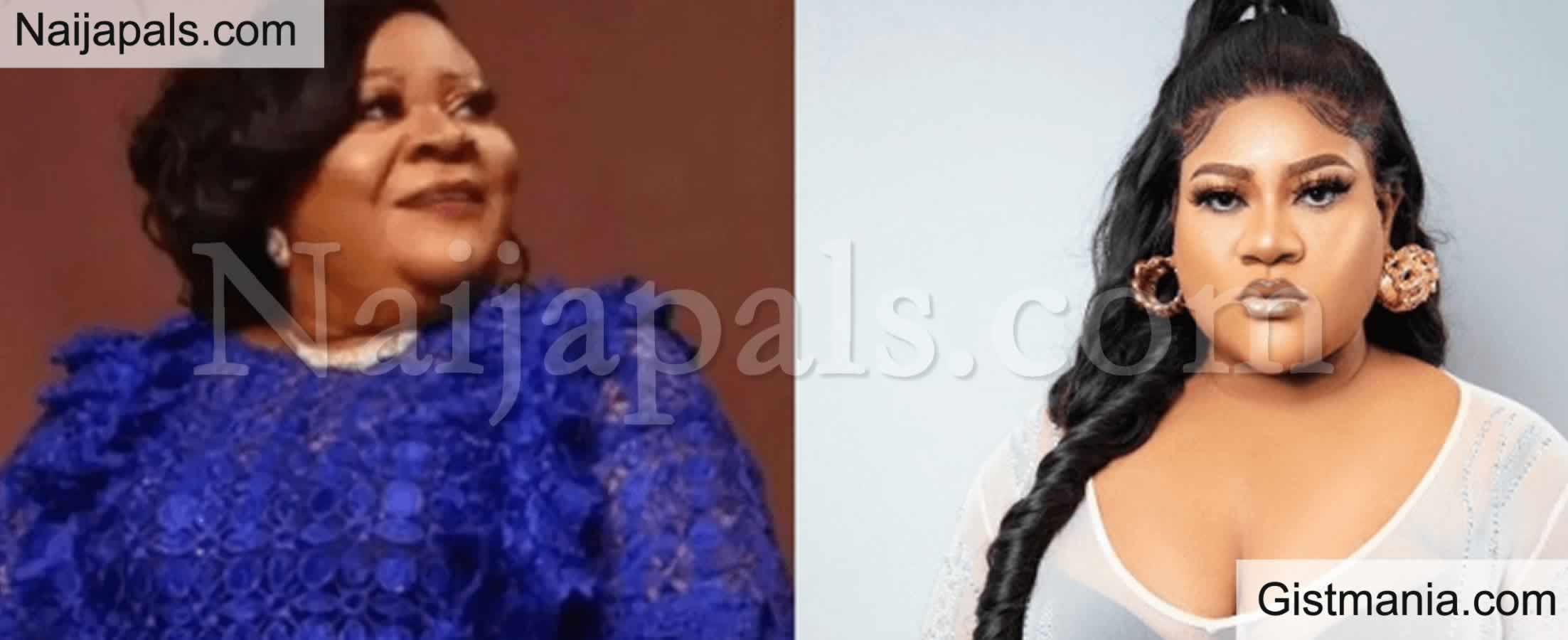 <img alt='.' class='lazyload' data-src='https://img.gistmania.com/emot/video.gif' /><b>Nkechi Blessing Passes Out From Shock At Her Mother's Funeral</b>