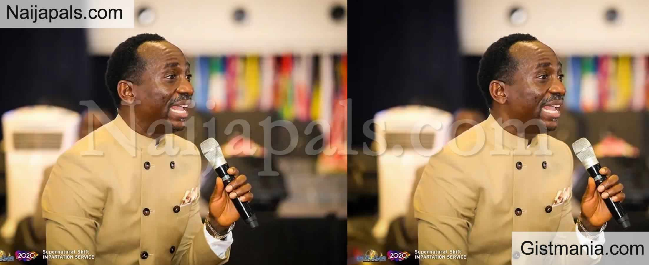"""<img alt='.' class='lazyload' data-src='https://img.gistmania.com/emot/video.gif' /> <b>""""You Don't Need To Lie To Make People Laugh""""</b> - Pastor Enenche Comes For Comedians (Video)"""