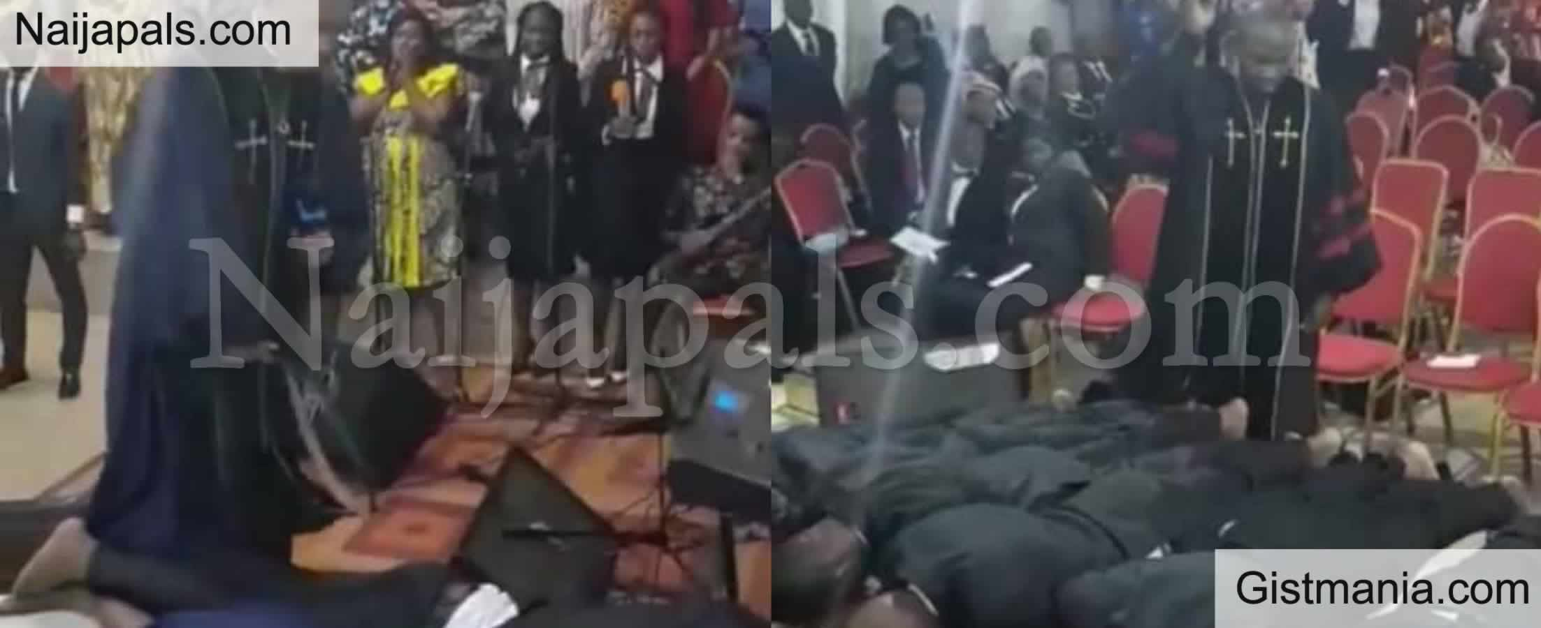 <img alt='.' class='lazyload' data-src='https://img.gistmania.com/emot/video.gif' /> <b>Watch Shocking Video Of Pastor Flogging His Own Church Members On Their Butt During Service</b>