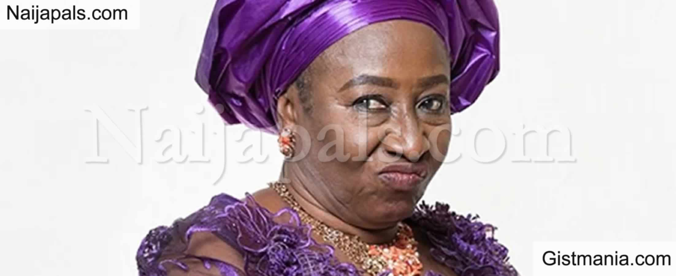 """<img alt='.' class='lazyload' data-src='https://img.gistmania.com/emot/comment.gif' /><b> """"Your Movie Roles Scarred Us As Kids""""</b> - Fans Tell Patience Ozokwor"""