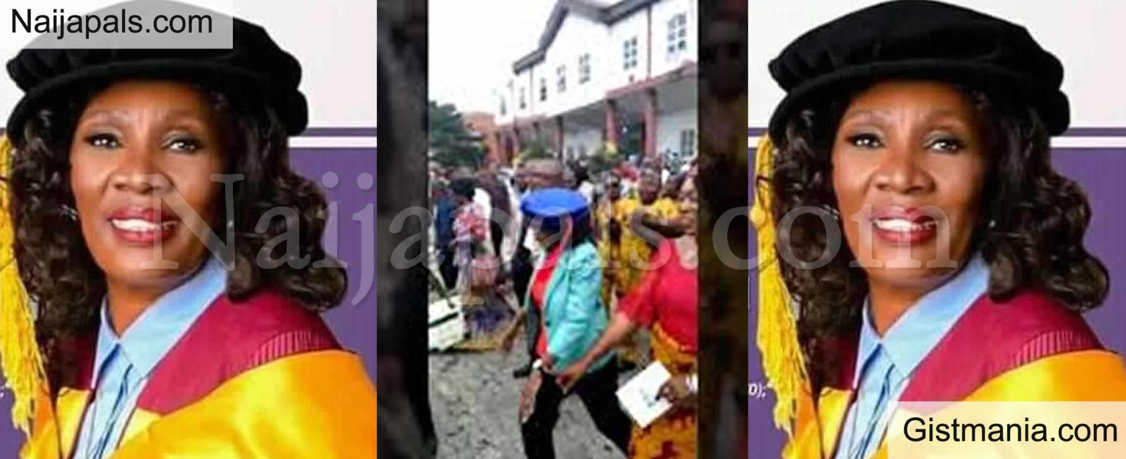 <img alt='.' class='lazyload' data-src='https://img.gistmania.com/emot/video.gif' /> <b>Meet Prof. Nnenna Nnannaya Oti, The First Female VC of FUTO</b>
