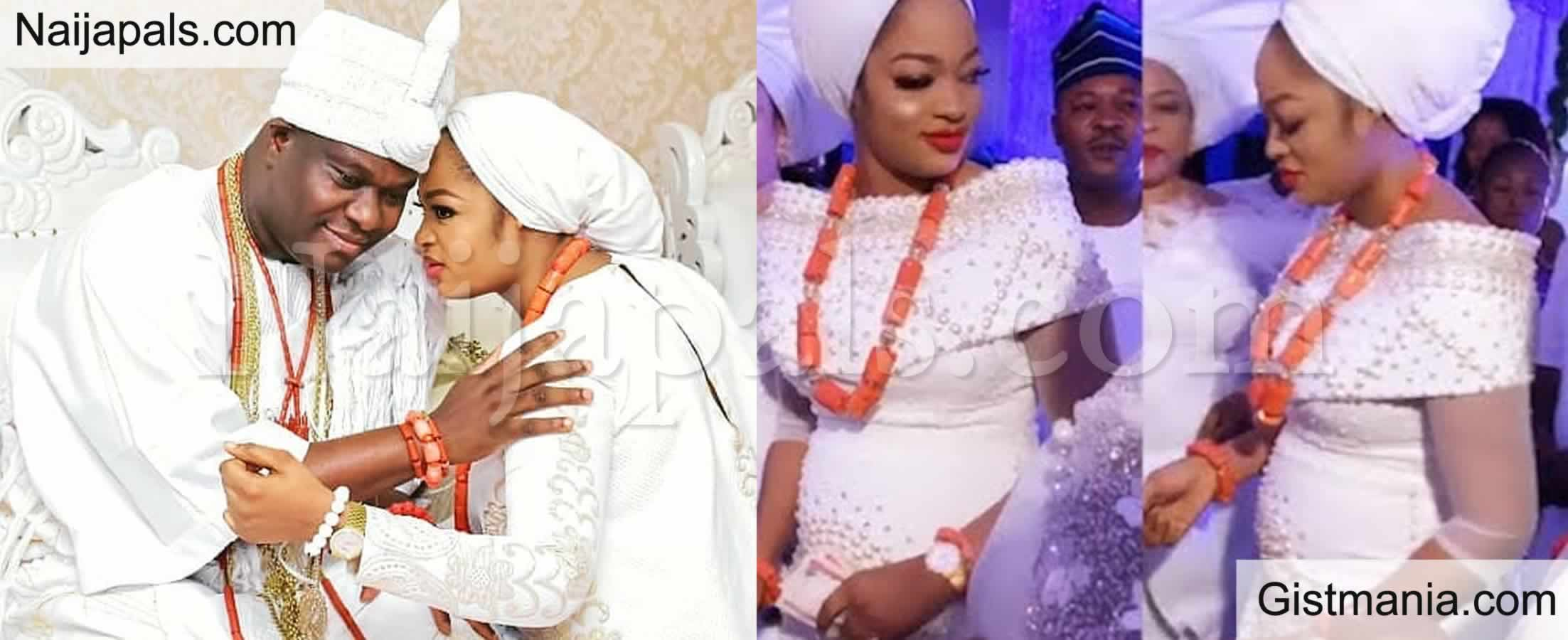 <img alt='.' class='lazyload' data-src='https://img.gistmania.com/emot/dance.gif' /> <b>Ooni Of Ife And His Wife, Olori Naomi Welcomes Their First Child Days After Olojo Festival 2020</b>