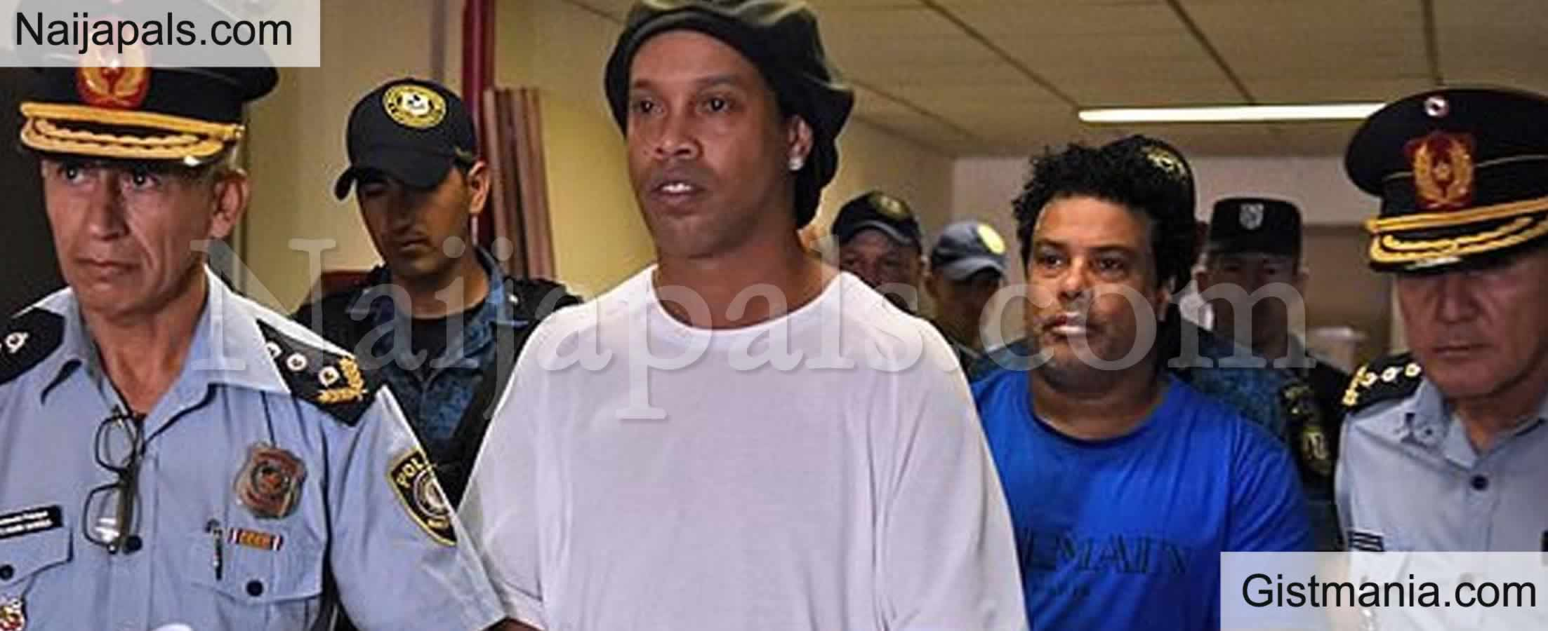 <img alt='.' class='lazyload' data-src='https://img.gistmania.com/emot/comment.gif' /> COVID 19:<b> Footballer, Ronaldinho Reportedly Test Positive For Coronavirus</b>