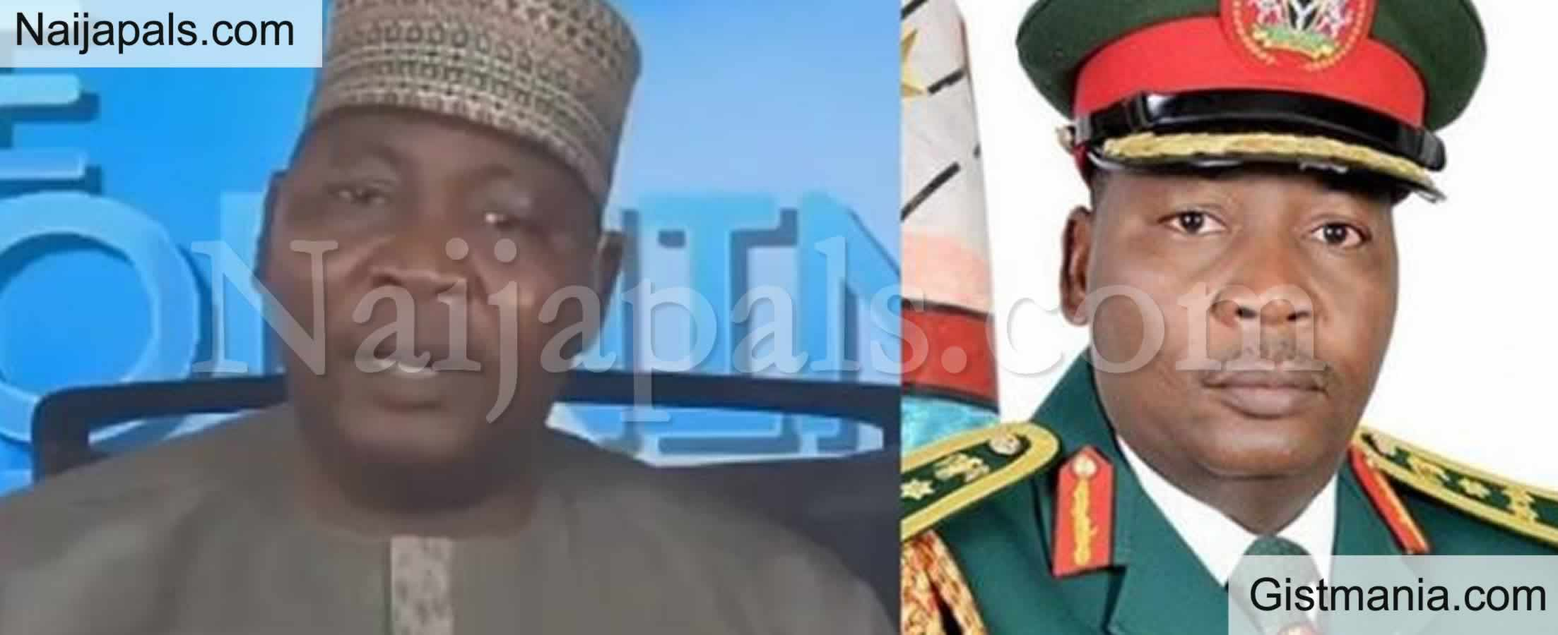 """<img alt='.' class='lazyload' data-src='https://img.gistmania.com/emot/video.gif' /> #LekkiMassacre: <b>""""There Is No Written Code That Stops The Military From Shooting You Because You're Holding National Flag""""</b> - Sani Usman (Rtd) (VIDEO)"""