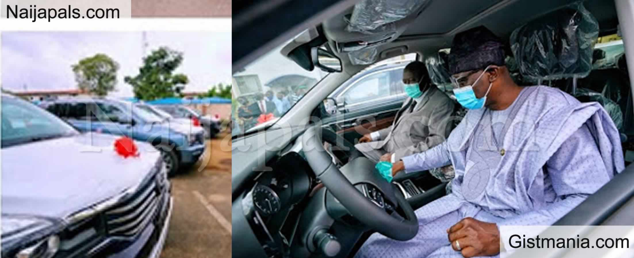 <img alt='.' class='lazyload' data-src='https://img.gistmania.com/emot/news.gif' /> <b>Governor Sanwo-Olu Hands Over 51 Cars, 8 Houses To Lagos Judges</b>