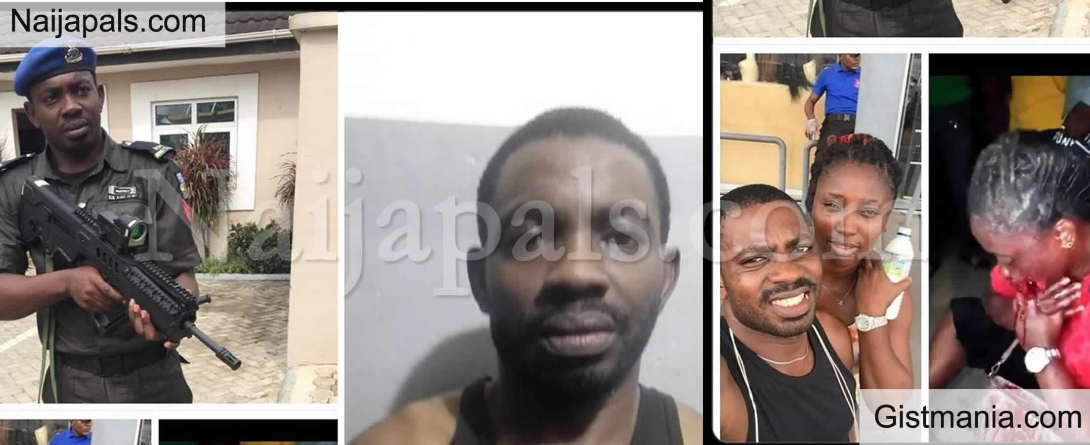 <img alt='.' class='lazyload' data-src='https://img.gistmania.com/emot/news.gif' /> <b>Authorities Arrest Police Officer, Sergeant Eze Aiwansoba Who Shot His Girlfriend In The Mouth In Lagos</b>