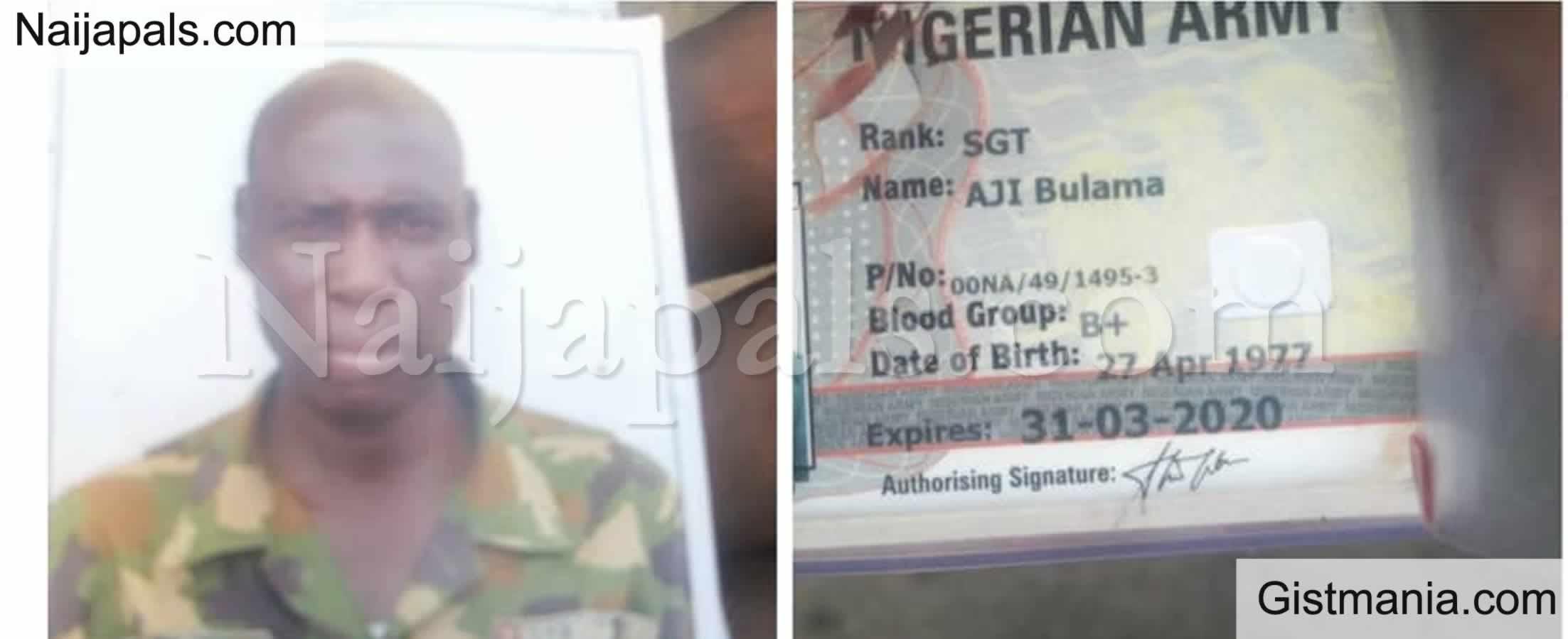 <img alt='.' class='lazyload' data-src='https://img.gistmania.com/emot/shocked.gif' /><img alt='.' class='lazyload' data-src='https://img.gistmania.com/emot/photo.png' /> <b>Gunmen Shot Dead Soldier During An Attack On A Commercial Bus In Enugu</b> (PHOTOS)
