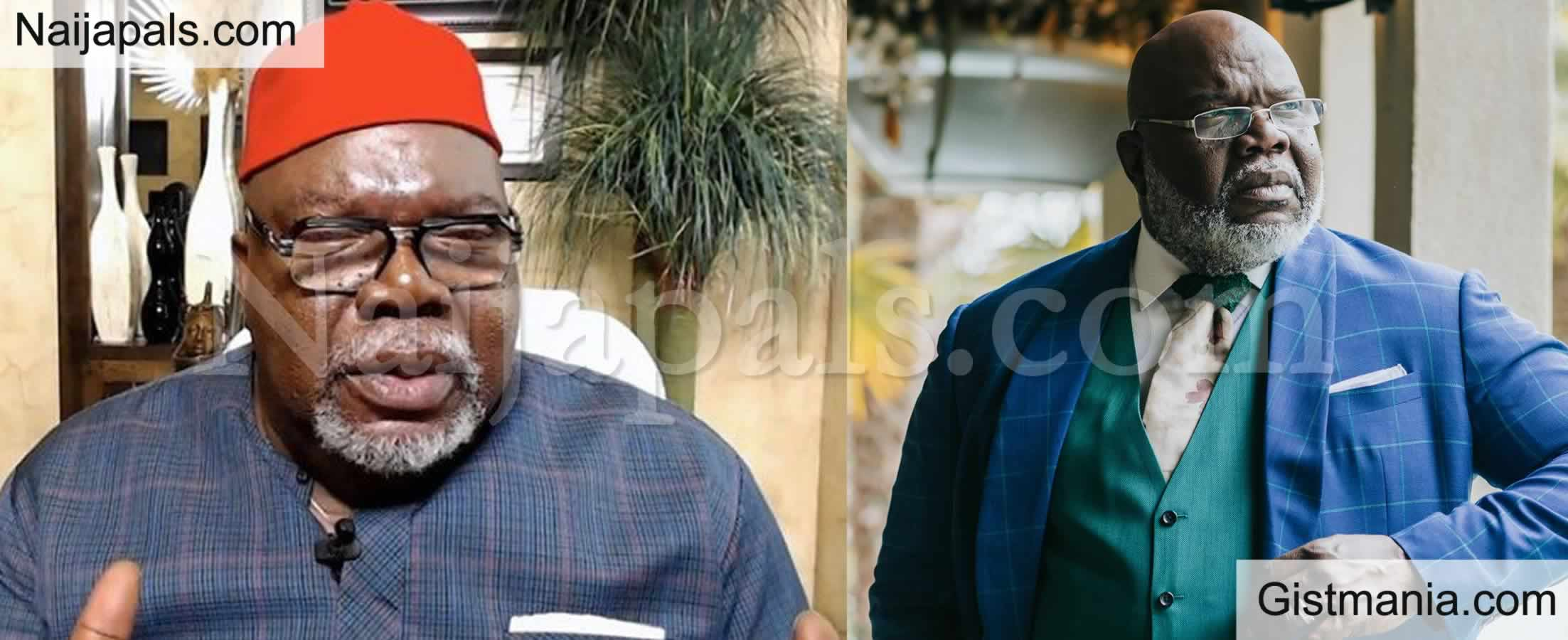 <img alt='.' class='lazyload' data-src='https://img.gistmania.com/emot/comment.gif' /> My Ancestors Were Igbos - <b>American Evangelist, Bishop T.D Jakes Confirms He is a Nigerian</b>