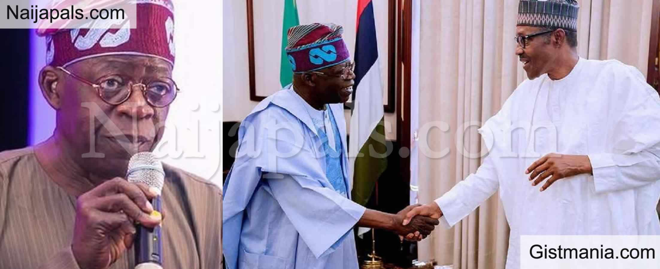 <img alt='.' class='lazyload' data-src='https://img.gistmania.com/emot/comment.gif' /> <b>Place Tinubu On Security Watch Now - Aso Rock Cabals Tell Buhari</b>