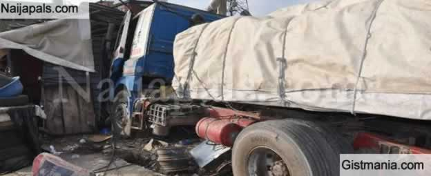 <img alt='.' class='lazyload' data-src='https://img.gistmania.com/emot/shocked.gif' /> <b>Tragedy Struck Marriage Ceremony As Truck Rams Into Venue Killed 2, Injured Several In Delta</b>