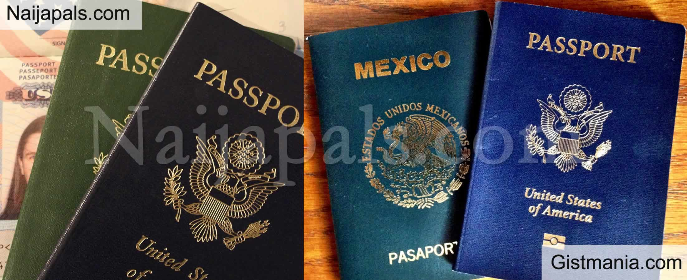 <img alt='.' class='lazyload' data-src='https://img.gistmania.com/emot/comment.gif' /> <b>United States of America Passport Now as Weak As Mexico's</b> - New Index Ranking Reveals