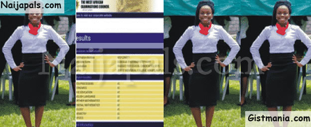 16-year-old Girl, Ugboaja Chizobam Stephany From Imo State Made 9As