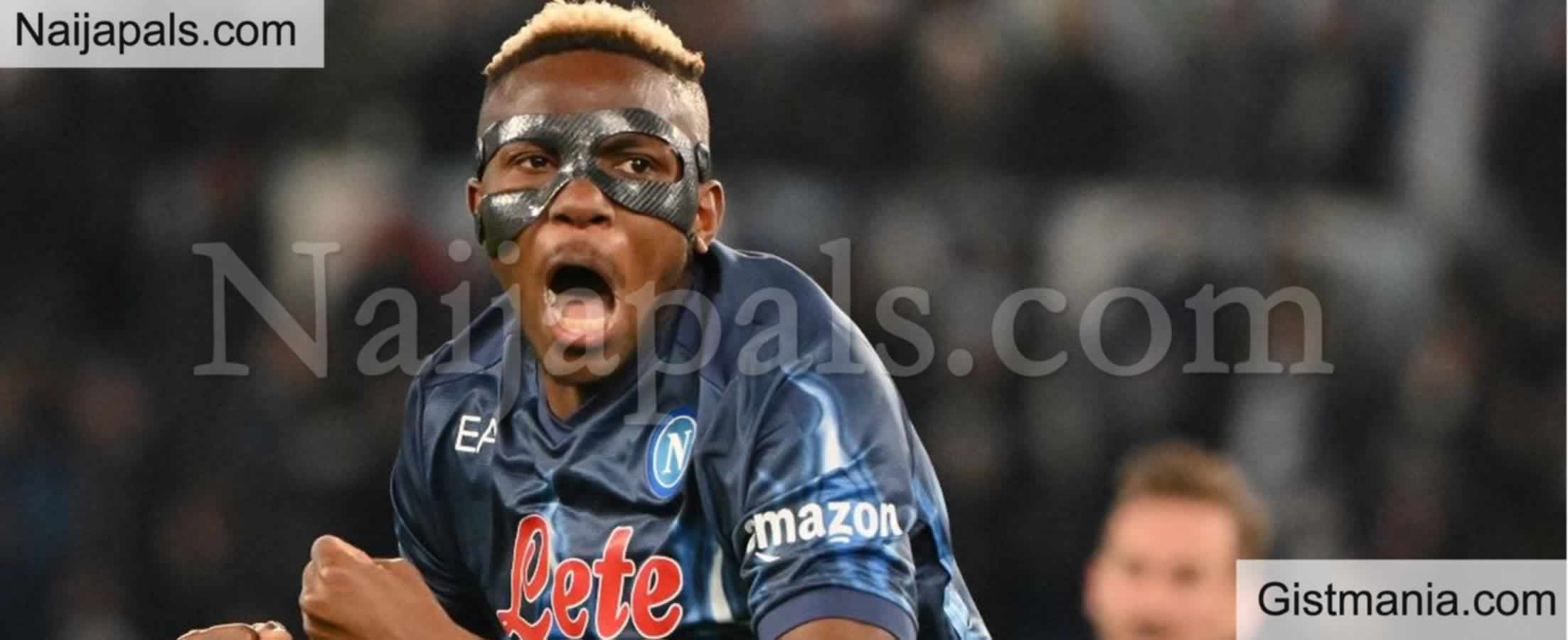 """<img alt='.' class='lazyload' data-src='https://img.gistmania.com/emot/smh.gif' /> <b>""""I Cleaned Gutters for 20 Naira""""</b> – Super Eagles & Napoli Forward, Victor Osimhen Speaks On His Grass To Grace"""