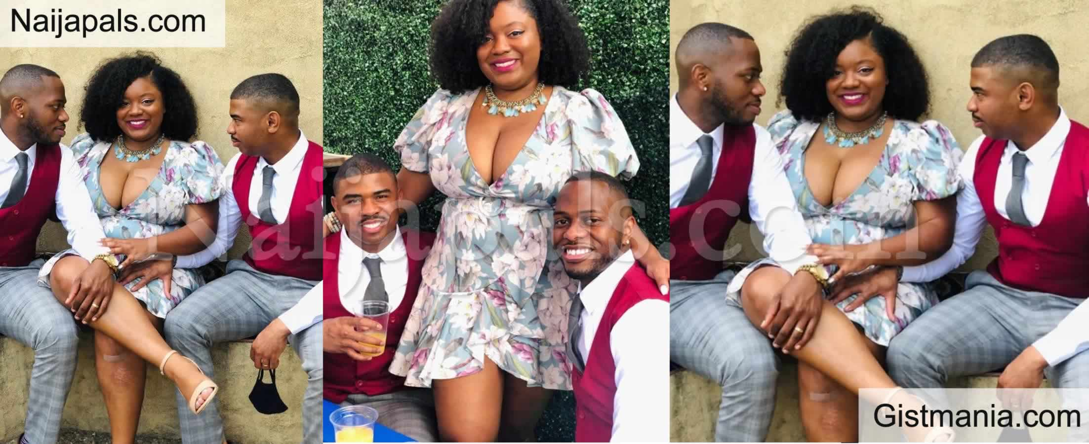 "<img alt='.' class='lazyload' data-src='https://img.gistmania.com/emot/comment.gif' /> <b>""Marrying Two Men Is Better Than Marrying One Man""</b> – Lady Says As She Flaunts Her Two Husbands (PHOTOS)"