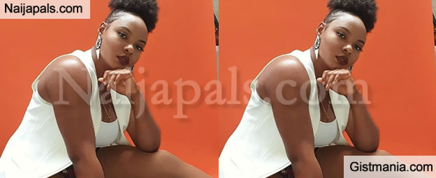 <img alt='.' class='lazyload' data-src='https://img.gistmania.com/emot/comment.gif' /> <b>Its Not Your Fault If Your Man Cheats</b> - Yemi Alade Consoles Heartbroken Ladies