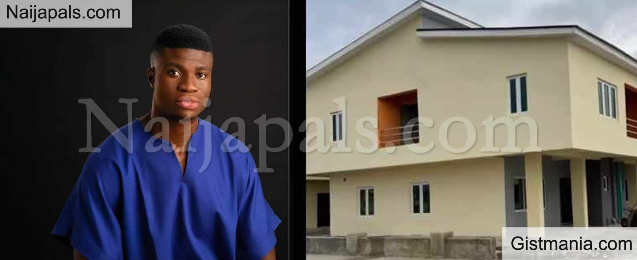 <img alt='.' class='lazyload' data-src='https://img.gistmania.com/emot/comment.gif' /> <b>IG Comedian, Zics Aloma Acquires His First House Weeks After Buying A Benz</b>