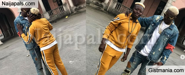 Rapper Zlatan Ibile And His Lover, Seyi Awonuga So Loved Up