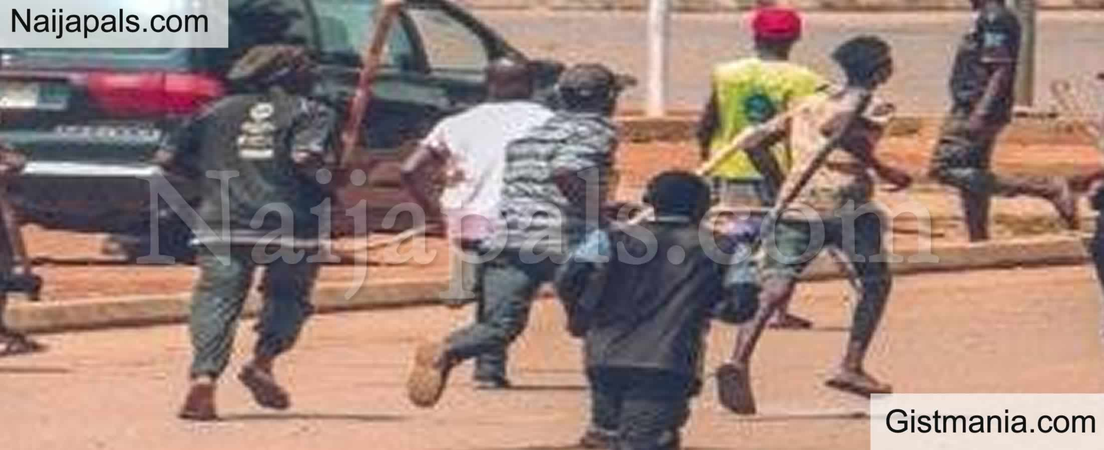 <img alt='.' class='lazyload' data-src='https://img.gistmania.com/emot/comment.gif' /> <b>Abuja Churches Close Early As Police, Commercial Motorcyclists Clash</b>