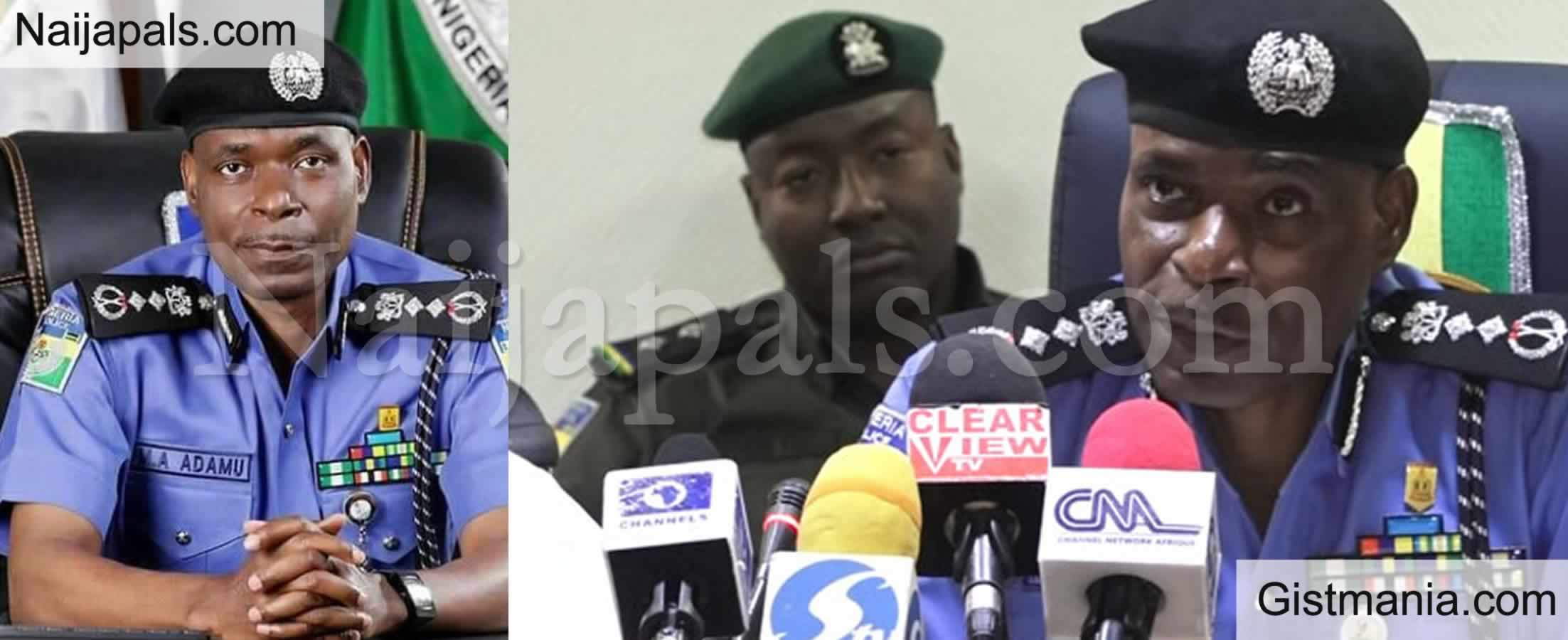<img alt='.' class='lazyload' data-src='https://img.gistmania.com/emot/news.gif' /> <b>IGP, Mohammed Adamu Warns Vigilante Groups Against Carrying Arms, Says Its Illegal </b>