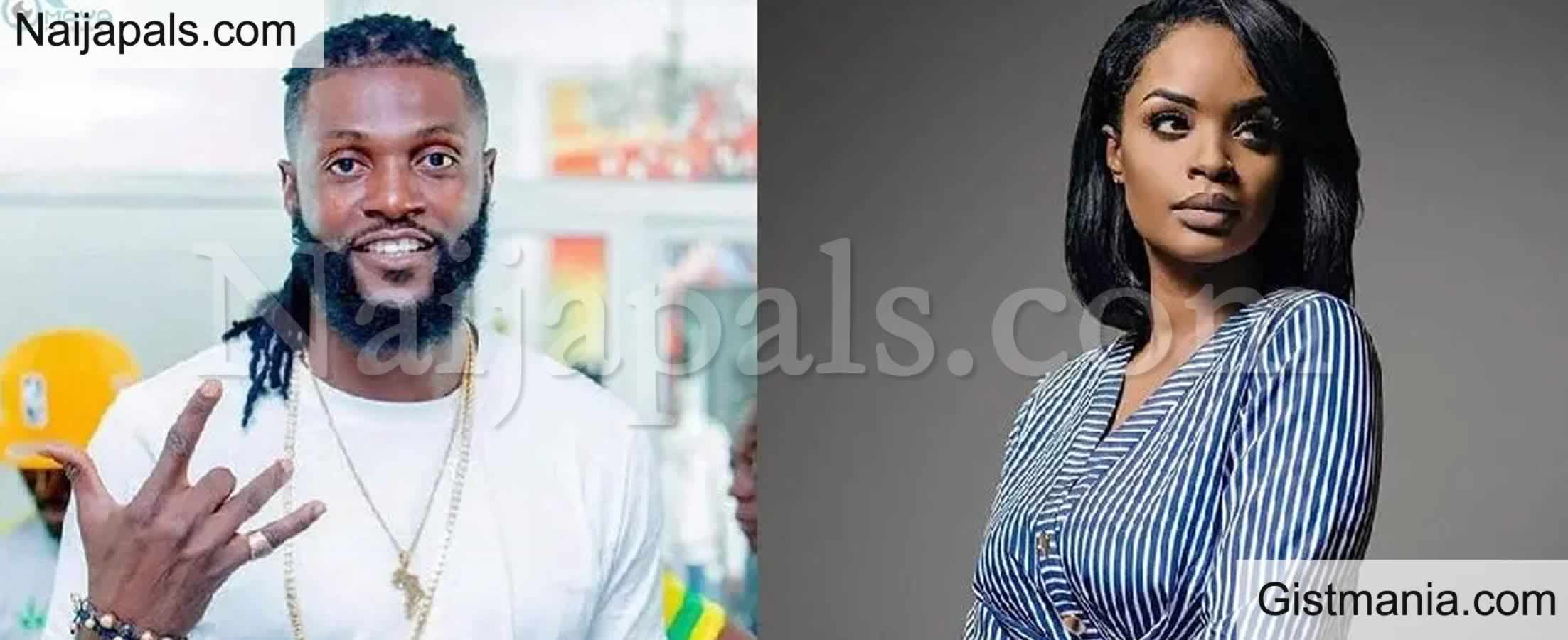 <img alt='.' class='lazyload' data-src='https://img.gistmania.com/emot/broken_heart.gif' /> You Are A Liar And Cheat - <b>Emmanuel Adebayor Accuses Ex-Girlfriend Dillish Mathews</b>