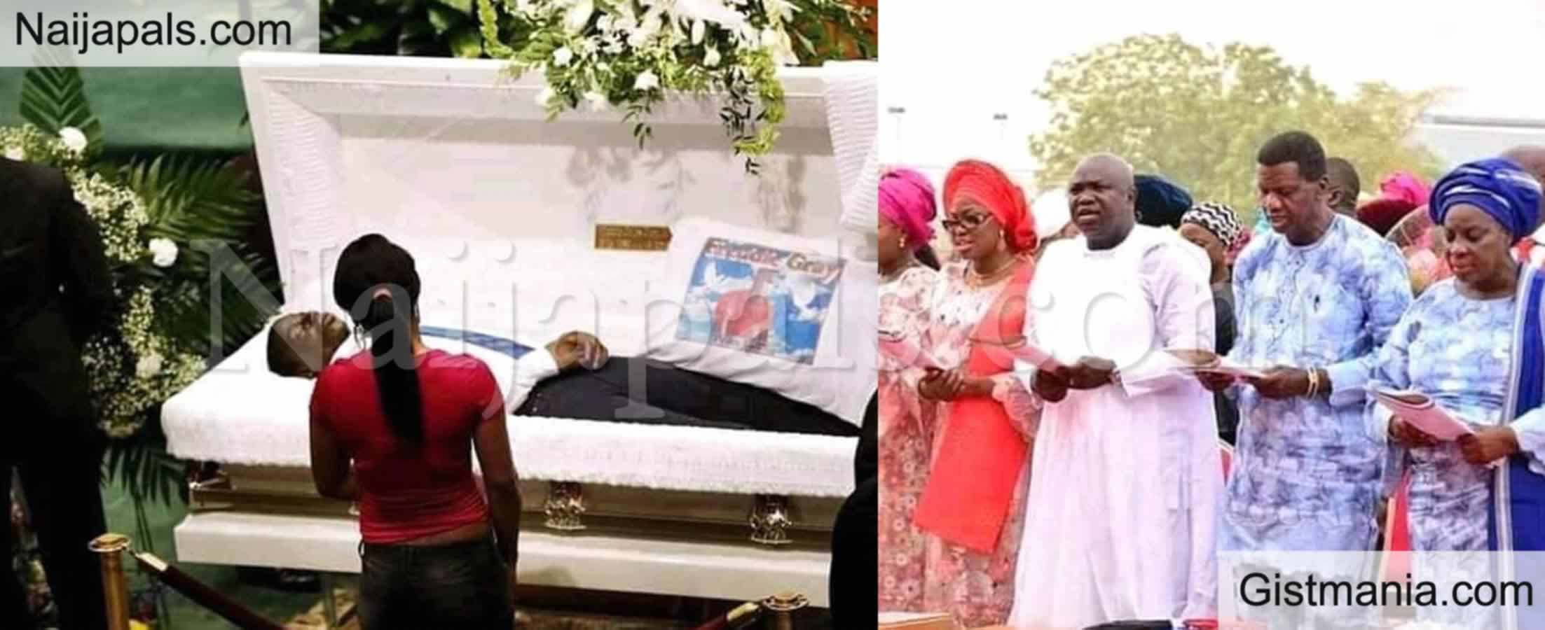 <img alt='.' class='lazyload' data-src='https://img.gistmania.com/emot/cry.gif' /> <b>Touching Pictures From The Burial Of Pastor Dare Adeboye</b>