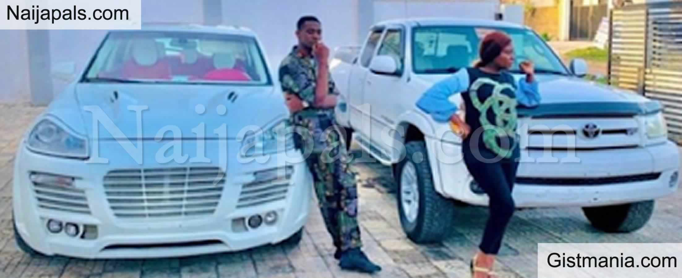 <img alt='.' class='lazyload' data-src='https://img.gistmania.com/emot/comment.gif' /> <b>Actor, Adedimeji Lateef And Adebimpe Oyebade Acquire New Cars On Same Day</b>