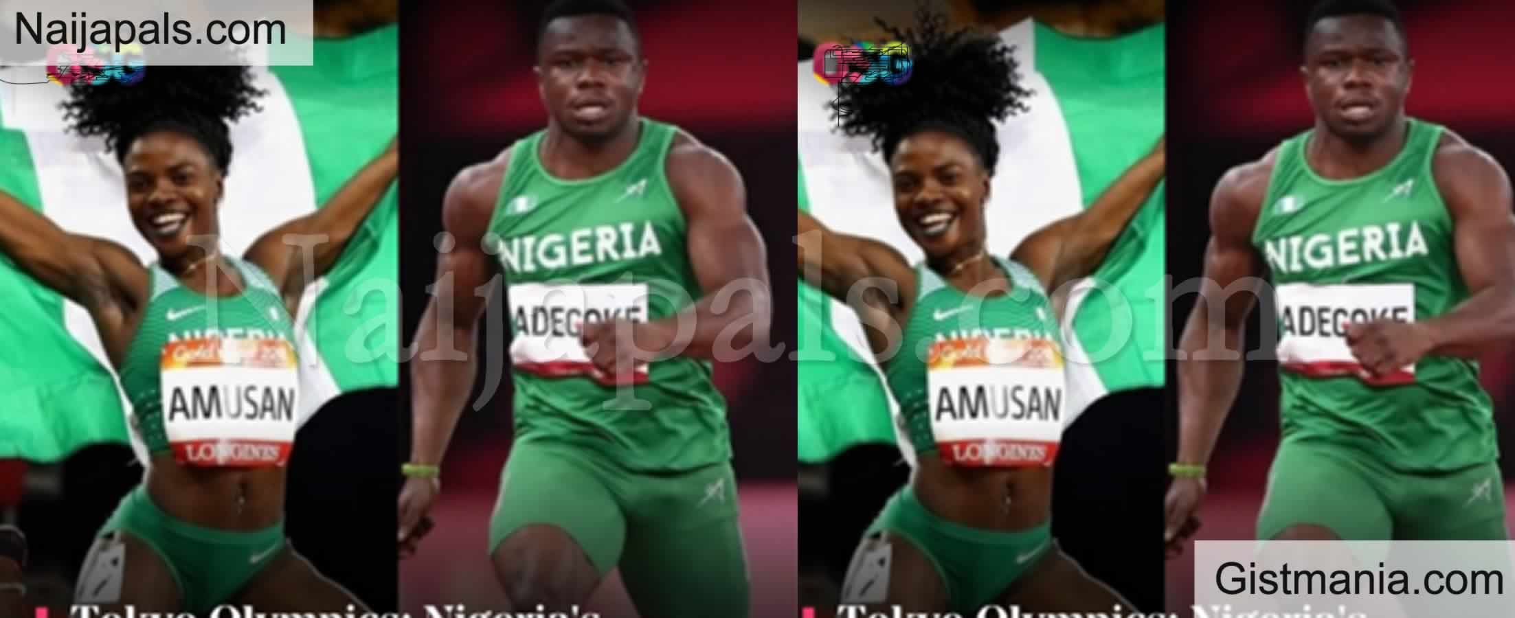 <img alt='.' class='lazyload' data-src='https://img.gistmania.com/emot/news.gif' /> Tokyo Olympics: <b>Nigeria's Athletes, Amusan And Adegoke, Break Records</b>