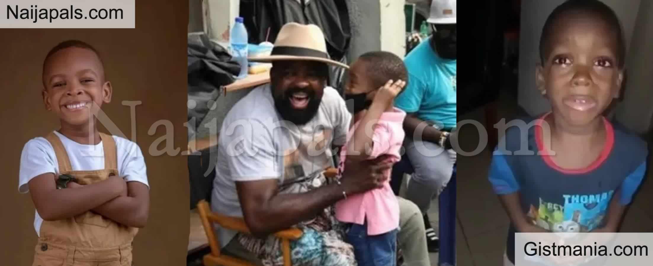 "<img alt='.' class='lazyload' data-src='https://img.gistmania.com/emot/photo.png' /> <b>Nigerian Boy ""Mummy Calm Down"" Makes Nollywood Debut In Kunle Afolayan Movie</b> (Photos)"