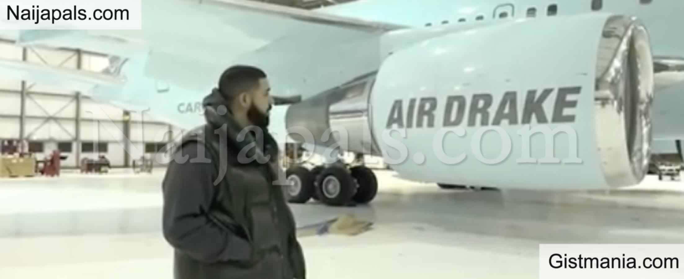 <img alt='.' class='lazyload' data-src='https://img.gistmania.com/emot/star.gif' /> <b>A Glimpse Inside Drake's $200 Million Private Jet Named Air Drake</b> (VIDEO)