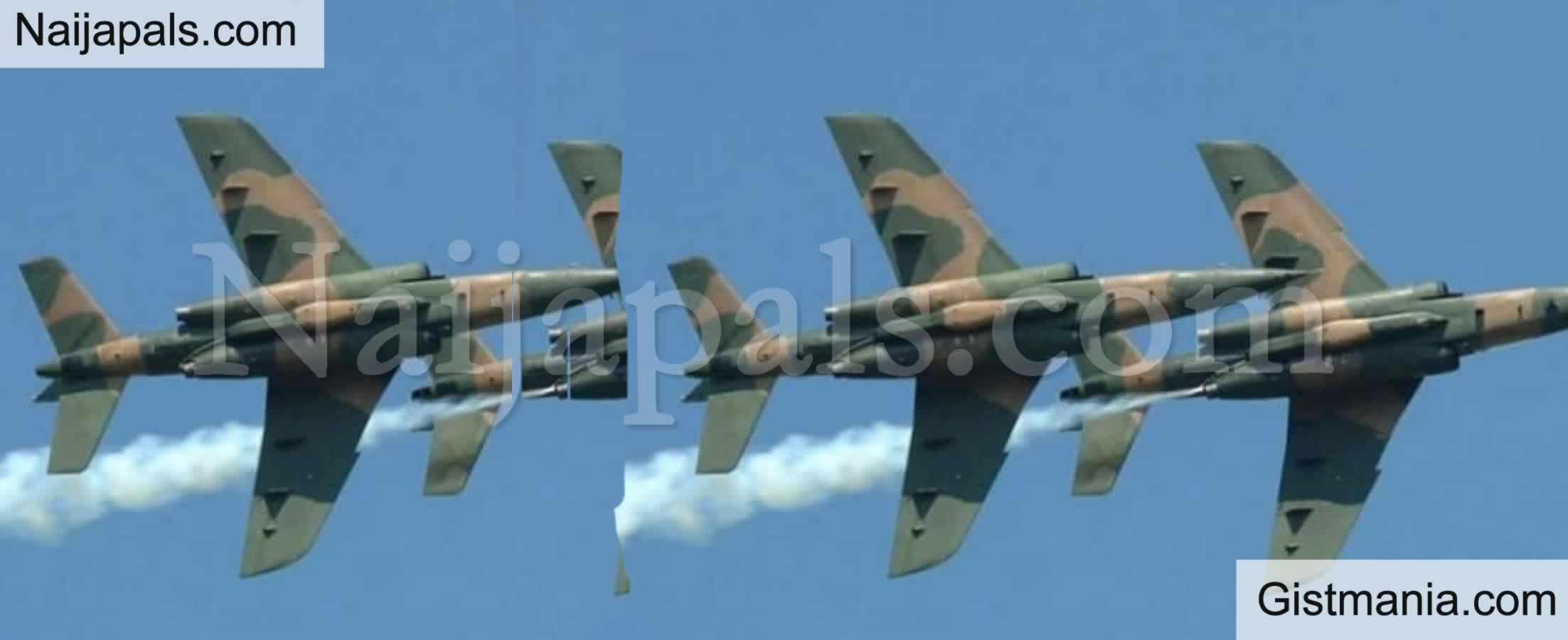 <img alt='.' class='lazyload' data-src='https://img.gistmania.com/emot/comment.gif' /> <b>Wedding Party Hit As NAF Airstrikes Kill Scores of Bandits in Nige</b>r